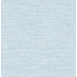 2901-24283 Agave Bliss Sky Blue Faux Grasscloth Wallpaper | The Fabric Co