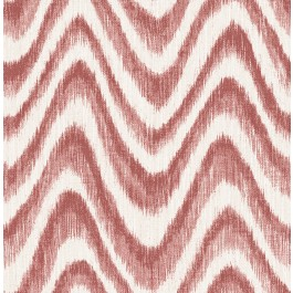 2901-25405 Bargello Red Faux Grasscloth Wave Wallpaper | The Fabric Co