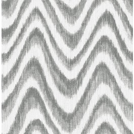 2901-25407 Bargello Grey Faux Grasscloth Wave Wallpaper   The Fabric Co