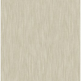 2903-25286 Chenille Light Brown Faux Linen Wallpaper | The Fabric Co
