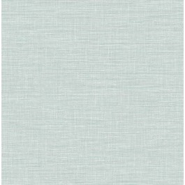 2903-25850 Exhale Light Blue Faux Grasscloth Wallpaper | The Fabric Co