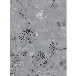 2904-00306 Misty Charcoal Distressed Dandelion Wallpaper | Brewster | The Fabric Co