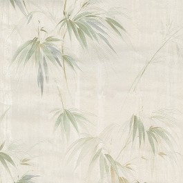 2904-05018 Atlis Neutral Bamboo Wallpaper | Brewster | The Fabric Co