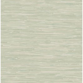 2904-22266 Natalie Sage Weave Texture Wallpaper | Brewster | The Fabric Co