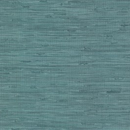 2904-24415 Fiber Teal Faux Grasscloth Wallpaper | Brewster | The Fabric Co