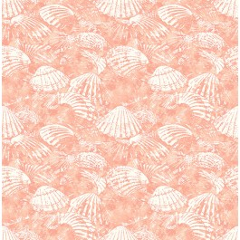 2904-25689 Surfside Coral Shells Wallpaper   Brewster   The Fabric Co