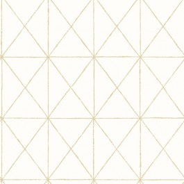 2904-78002 Intersection Gold Diamond Wallpaper   Brewster   The Fabric Co