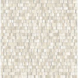 2908-24926 Dobby Cream Geometric Wallpaper | The Fabric Co