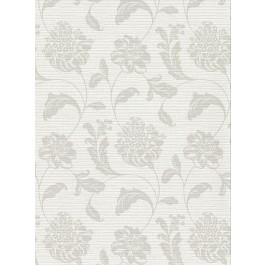 2910-2752 Holiday Light Grey Jacobean Wallpaper | The Fabric Co