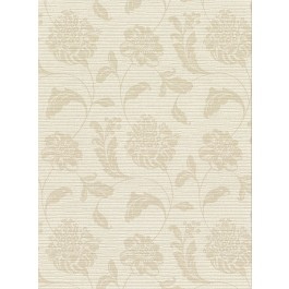 2910-2753 Holiday Beige Jacobean Wallpaper | The Fabric Co