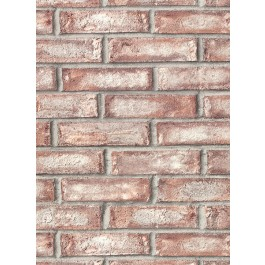 2921-50101 Appleton Maroon Faux Weathered Brick Wallpaper | The Fabric Co