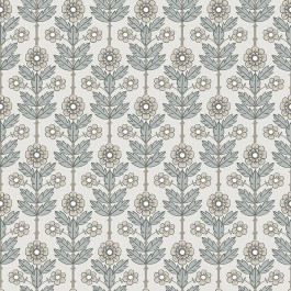 2948-28005 Aya White Floral Wallpaper   The Fabric Co