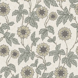 2948-28020 Leilani White Floral Wallpaper | The Fabric Co