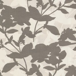 310863 Brown Large Scale Floral Wallpaper