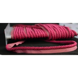 Colors Raspberry Pink Lip Cord Trim