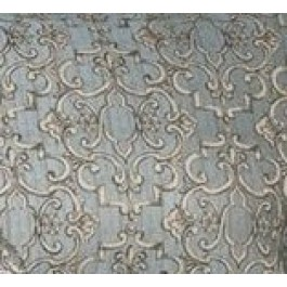 Light Blue Scroll Damask Upholstery Treillage Skuy Blue Swavelle Mill Creek Fabric