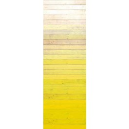 330282 Degrado Yellow Ombre Painted Wood Wallpaper