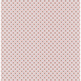 341020 Eebe Pink Floral Geometric Wallpaper