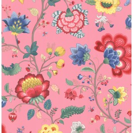 341031 Epona Pink Floral Fantasy Wallpaper