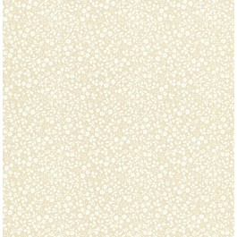 341062 Gretel Beige Floral Meadow Wallpaper