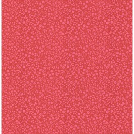 341067 Gretel Red Floral Meadow Wallpaper