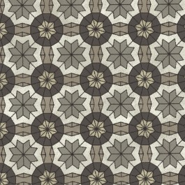 341773 Marqueterie Pewter Mosaic Geometric Wallpaper