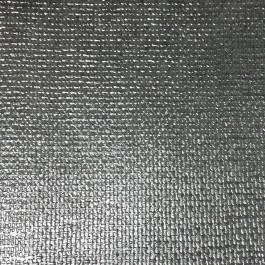 341799 Ziba Silver Metallic Woven Texture Wallpaper