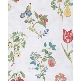 2806-375020 Danique White Garden Wallpaper