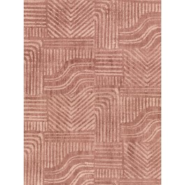 2930-391531 Pueblo Red Global Geometric Wallpaper   The Fabric Co