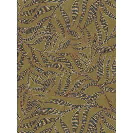 2930-391551 Montrose Olive Leaves Wallpaper | The Fabric Co