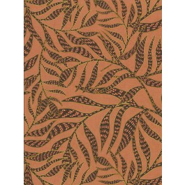 2930-391554 Montrose Coral Leaves Wallpaper | The Fabric Co