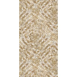 2930-391563 Lakewood Weave Straw Wall Mural | The Fabric Co
