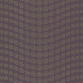488-31232 Genesis Purple Dotty Wallpaper