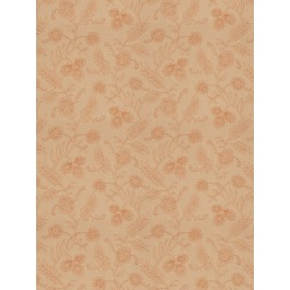 Pleasure Garden Cinnamon Fabric