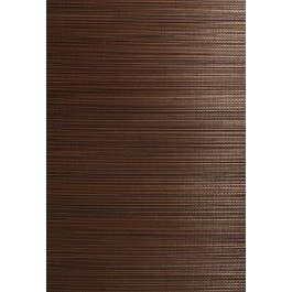 63-54710 Xin Qian Dark Brown Grasscloth Wallpaper