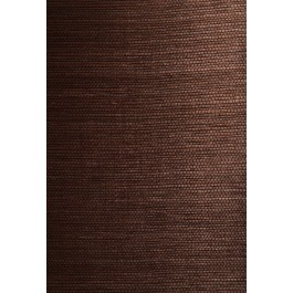 63-54721 Xiu Dark Brown Grasscloth Wallpaper