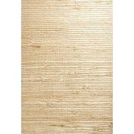 63-54726 Bing Qing Beige Grasscloth Wallpaper