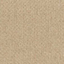 63-54782 Hui Ying Taupe Grasscloth Wallpaper
