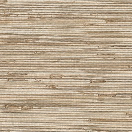 63-65601 Ting Taupe Grasscloth Wallpaper