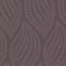 671-68510 Calix Purple Sienna Leaf Wallpaper