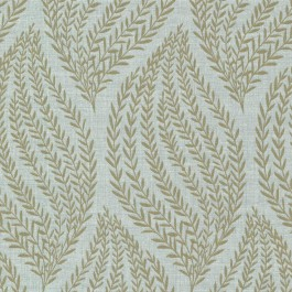 671-68546 Calix Sage Sienna Leaf Wallpaper