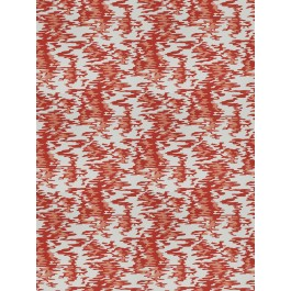 Water Reflections Hot Coral Fabricut Fabric