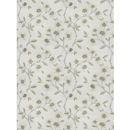 Pennant Floral Pewter Fabricut Fabric