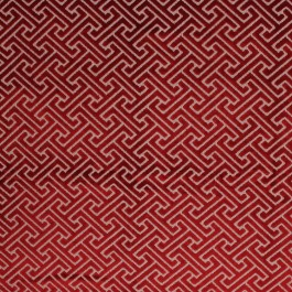 Royal Fret Ruby RM Coco Fabric | The Fabric Co
