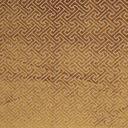 Royal Fret Citron RM Coco Fabric | The Fabric Co