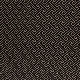 Royal Fret Onyx RM Coco Fabric   The Fabric Co