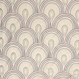 Splendide Aqua RM Coco Fabric | The Fabric Co