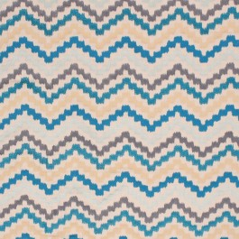 Machu Picchu Turquoise RM Coco Fabric | The Fabric Co