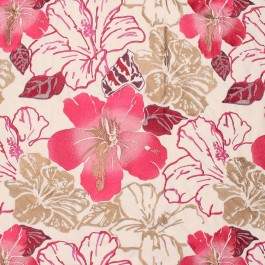 Floral Splendor Passion RM Coco Fabric | The Fabric Co