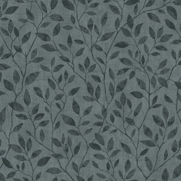 2928-8836 Willow Dark Grey Silhouette Trail Wallpaper | The Fabric Co